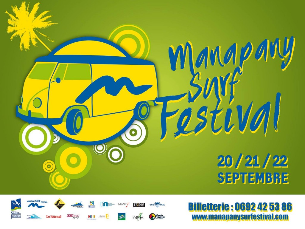 Affiche Manapany Surf Festival 2013