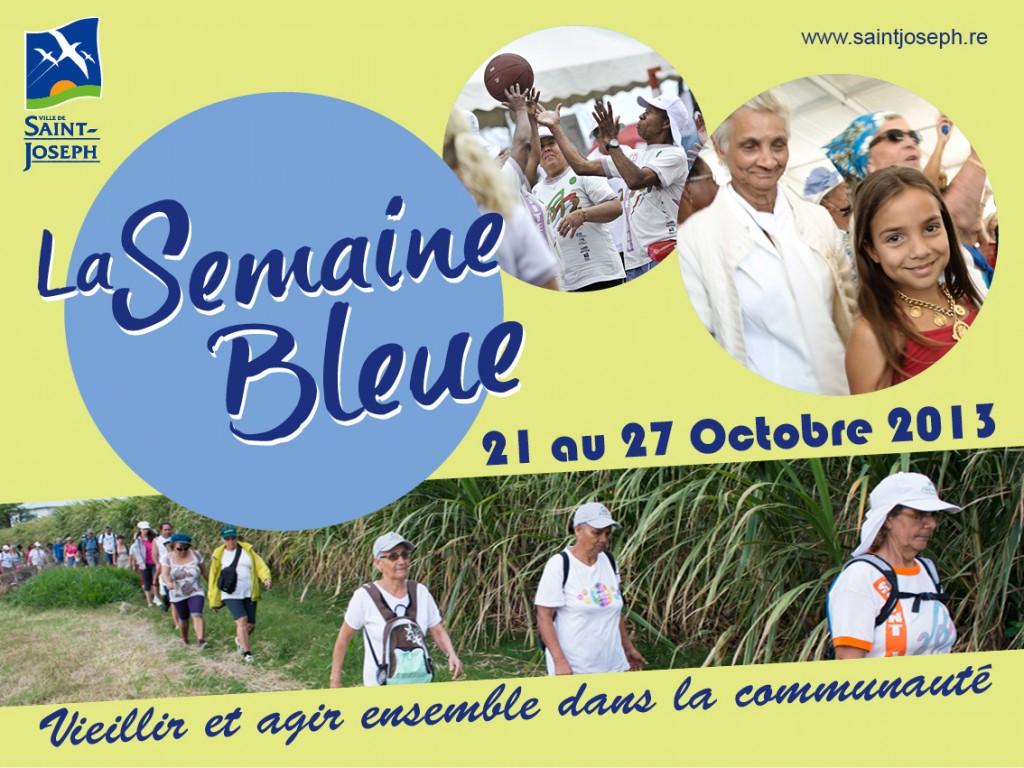 Affiche Semaine Bleue 2013 - imazcom
