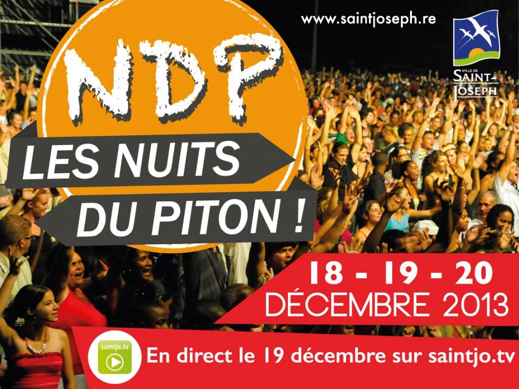 Affiche Les Nuits du Piton - imazcom