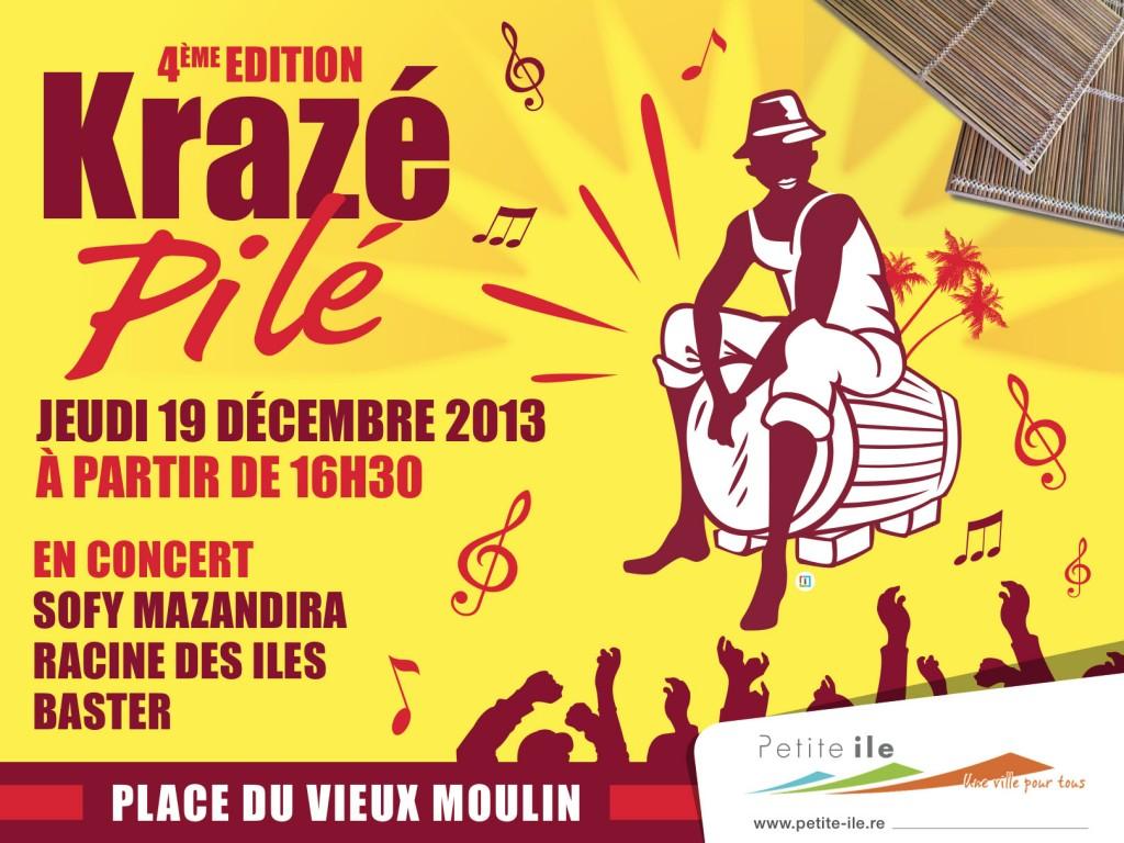 Affiche Krazé Pilé - imazcom