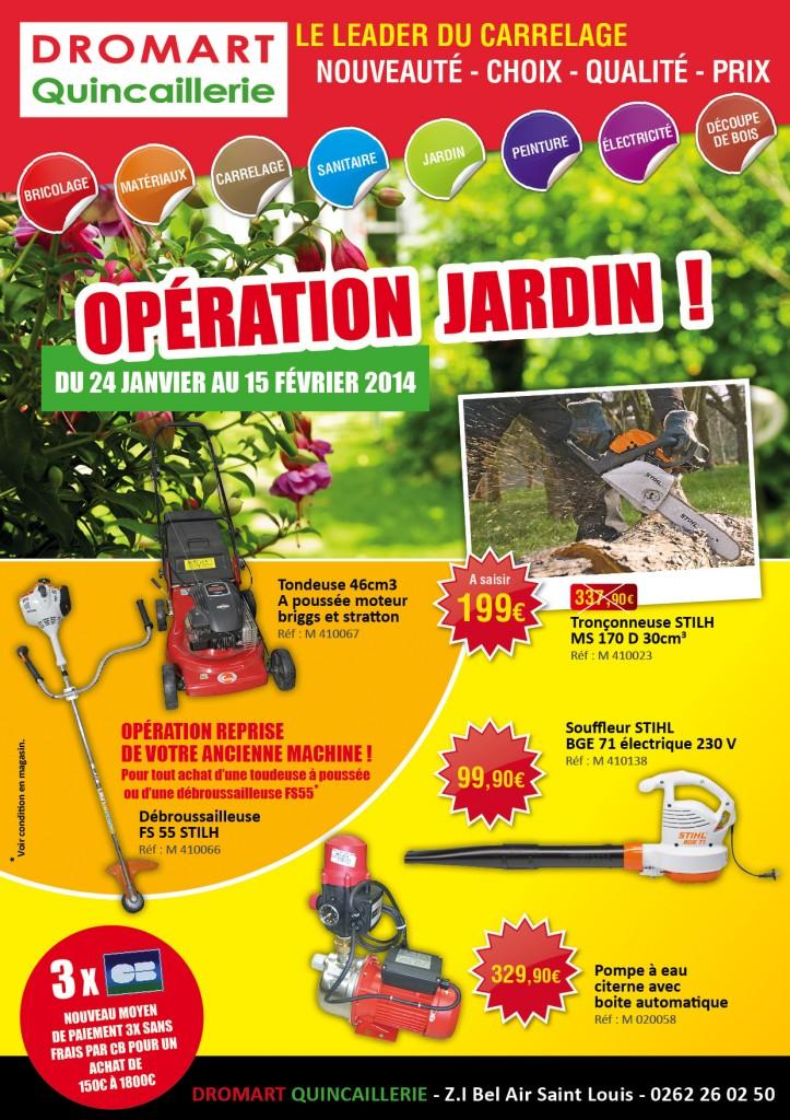 Opération Jardin Dromart - imazcom